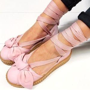Brand NewPuma Fenty Creeper Lace Up Sandals
